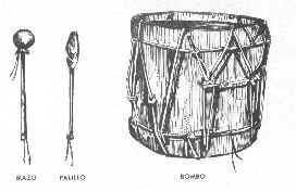 Instrumentos criollos y aborígenes