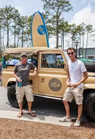 30a jeep and yolo board at 30a day at naturewalk at seagrove barb
