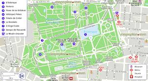 Madrid Spain Map by Madrid Map Parque Del Retiro Best Things To Do Layout
