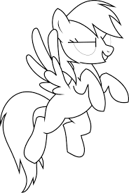 My Little Pony Colouring Pages Printable 22 My Little Pony Coloring Pages Rainbow Dash 3103
