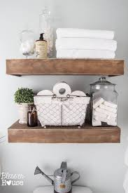 Redecorating Bathroom Ideas by Top 25 Best Decorating Bathroom Shelves Ideas On Pinterest