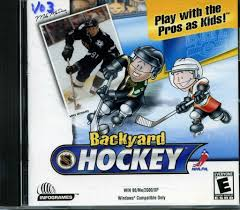 109 11125 backyard hockey play with the pros as kids video