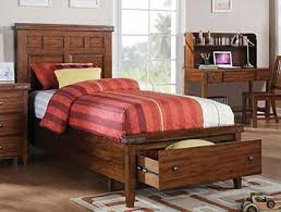 mango full size storage bed by winners only