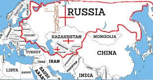 Former Soviet Union Map Russia Vs China U2013 Iakovos Alhadeff