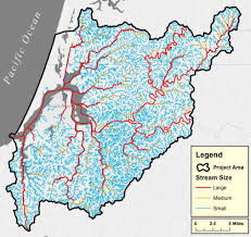 Hydrology Map Hydrology Of The Lower Coos Watershed Partnership For Coastal