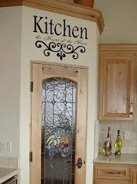 Kitchen Cabinet Quotes Kitchen Wall Quote Vinyl Decal Lettering Decor Sticky 24 99 Via