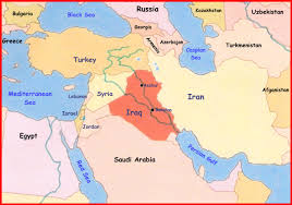 Jordan Country Map From Where The Antichrist Comes