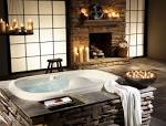 Featured Bathroom Inspiration Fireplace Ornament Beautiful Design ...