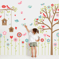 Tree Decal For Nursery Wall by Wall Stickers Nursery Stickers Wall Decals Tinyme
