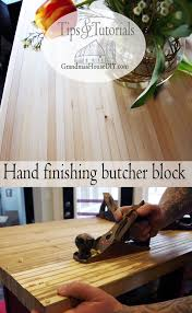 old tools planing finishing a do it yourself butcher block