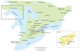 Hamilton Canada Map Air Quality In Ontario 2013 Report Ontario Ca
