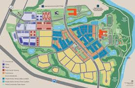Raleigh Map 5401 North Master Planned