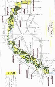 Chicago Suburbs Map Chicago River Paddling Fishing