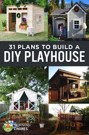 How To Draw A Floor Plan For A House 31 Free Diy Playhouse Plans To Build For Your Kids U0027 Secret Hideaway