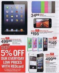 where are the tablets at at target for black friday target black friday 2012 ad scan