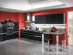 Red And Black Kitchen Ideas Red And Black Kitchen Wall Decor Brown Minimalist Polished Granite