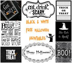 happy halloween banner free printable free black u0026 white halloween printables u2013 a to zebra celebrations