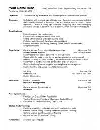 Summary Sample Resume by Sample Warehouse Resume Examples Sample Resumes Pinterest