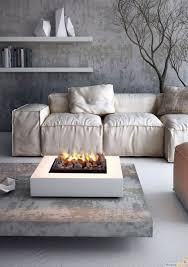 coffee table indoor fire pit coffee table for sectional sofa with