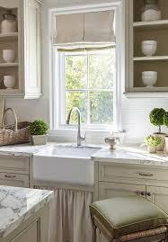 Skirted Kitchen Sink Design Ideas - French kitchen sinks
