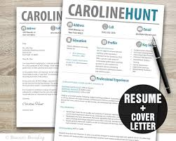 Download Resume Cover Letter Resume Template Resume Cover Letter Template Cv Template