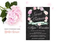 Invite Cards Sweet Sixteen Invitation Cards Festival Tech Com