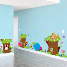 Tree Decal For Nursery Wall by Childrens Wall Decals Uk 3d Butterfly Stickers Home Diy Wall Art