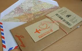 Editable Wedding Invitation Cards Free Boarding Pass Wedding Invitations