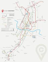 Texas Map Austin by Future Map U201cprojectconnect U201d Central Texas Transit Maps