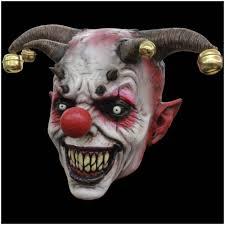 halloween mask costumes jingle jangle evil clown halloween mask mad about horror