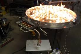 Fire Pit Burner by Custom Fireplace Metal Pans Basket Burners Natural Gas Or Propane