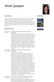 Ecommerce Resume Sample by Product Development Manager Resume Samples Visualcv Resume