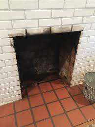 Cleaning Grease Off Walls by How To Clean A Fireplace Firebox Friday Five The Diy Bungalow