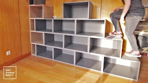 Loft Shelving by Loft Bed Work Space Staircase Shelf Ep 2 Youtube