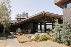 Mid Century Modern House Plan Landscape And Hardscape Outside Midcentury Modern Hollywood Home