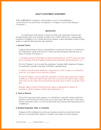 transfer agreement template 9 investment agreement template exclusive resumes investment agreement template investment contract template cp equityinvestmentagreement sample 2 png