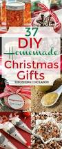 Home Made Christmas Gifts by 37 Diy Homemade Christmas Gifts