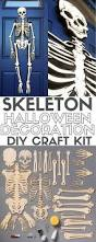 halloween decorations skeletons how to make a skeleton halloween decoration for the front door