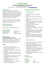 Trainee sales negotiator CV for graduate jobseekers   Dayjob Yumpu
