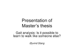 PPT   M amp IB Master       s Thesis Seminar Session      Introduction     Presentation of Master     s thesis
