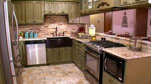 Country Kitchen Tile Ideas Victorian Kitchens Hgtv