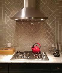 taupe glass subway tile kitchen backsplash subway tile outlet