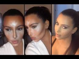 how to contour and highlight with cream foundation makeup for
