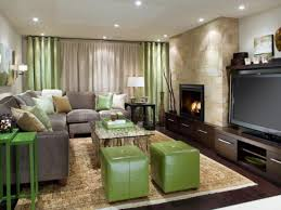 how to make my living room tidy and orderly homesfeed gray long cozy sofa green leathered stool patterned ligh brown rug marble wall white painted wall