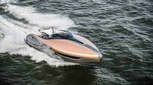 lexus japanese models sport yacht concept unveiled japanese brand floats a new idea