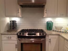Mosaic Tiles For Kitchen Backsplash Stylish Glass Subway Tile Kitchen Backsplash All Home Decorations