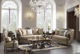 Traditional Style Formal Living Room Furniture Brown Sofa Set Best - Best living room sets
