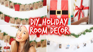 Christmas Decorations Diy by Diy Holiday Room Decor Wall Decor U0026 Christmas Advent Calendar