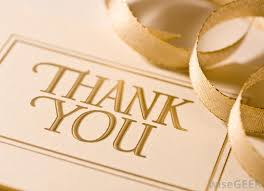 It is good etiquette to send thank you notes to guests following a dinner party