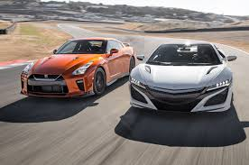 nissan canada back in the game 2017 acura nsx vs 2017 nissan gt r head 2 head comparison motor